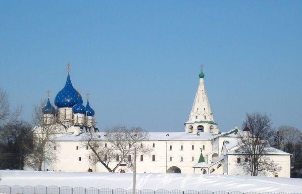 suzdalkij kreml kupola