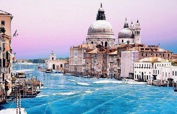 venecia zimoj parallelno s lyzhnym otdyhom